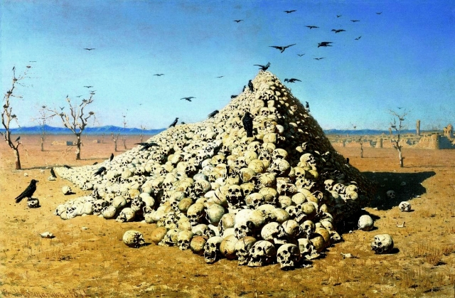 Vasiliy Vereshchagin - The Apotheosis of War